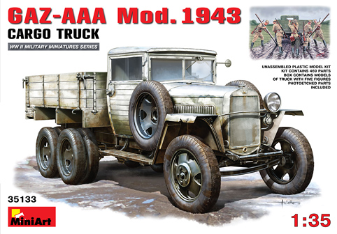 GAZ-AAA Mod. 1943 Cargo Truck