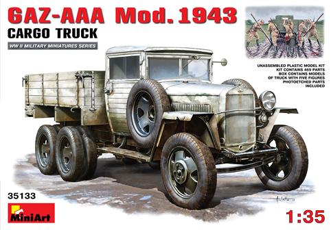 GAZ-AAA Mod. 1943 Cargo Truck