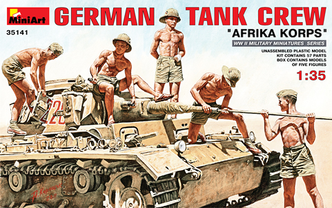 GERMAN TANK CREW  35141