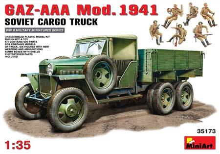 35173 GAZ-AAA Mod.1941 SOVIET CARGO TRUCK