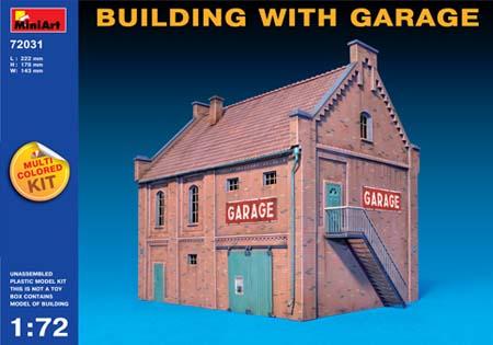 72031 BUILDING w/GARAGE