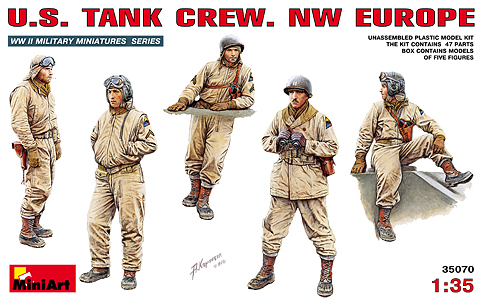 MiniArt 35070  U.S. TANK CREW. NW EUROPE