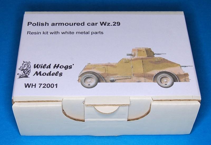 Wild Hogs' Models - Wz.29 - 1/72