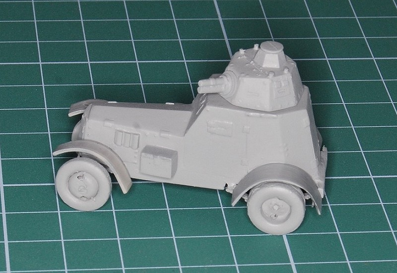 Wild Hogs' Models - Wz.34-II - 1/72