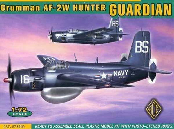 Grumman AF-2W Guardian - ACE 72304