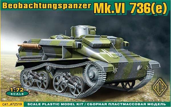 Mk.VI 736(e) Beobachtungspanzer - ACE 72519