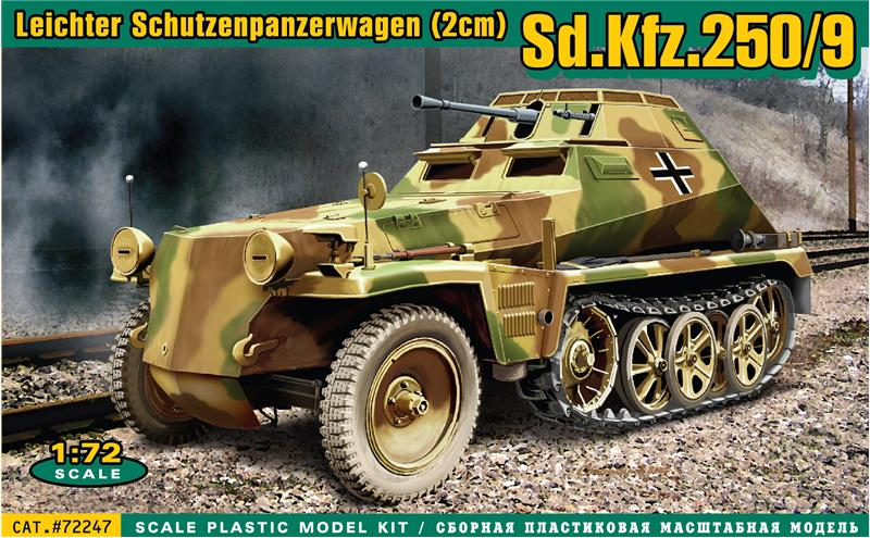 Sd.Kfz. 250/9 (alt) - Ace Model 1/72