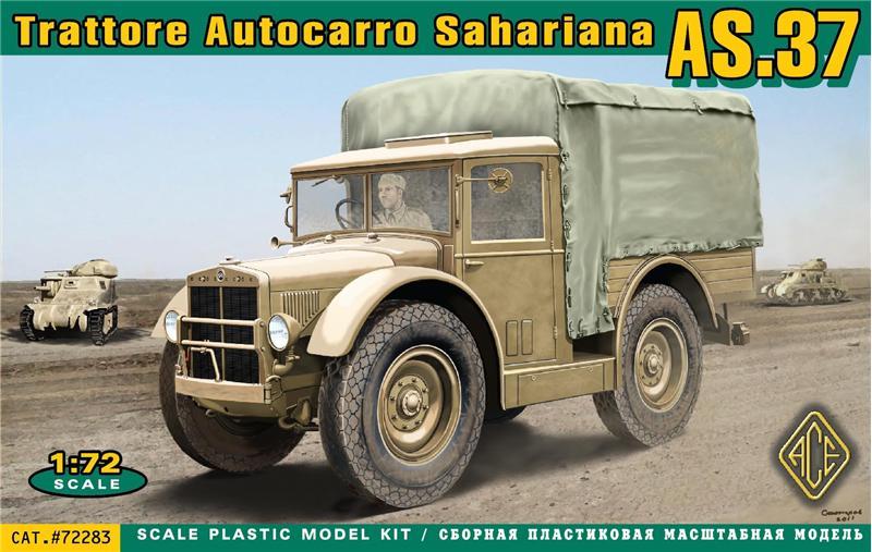 Trattore Autocarro Sahariano AS.37