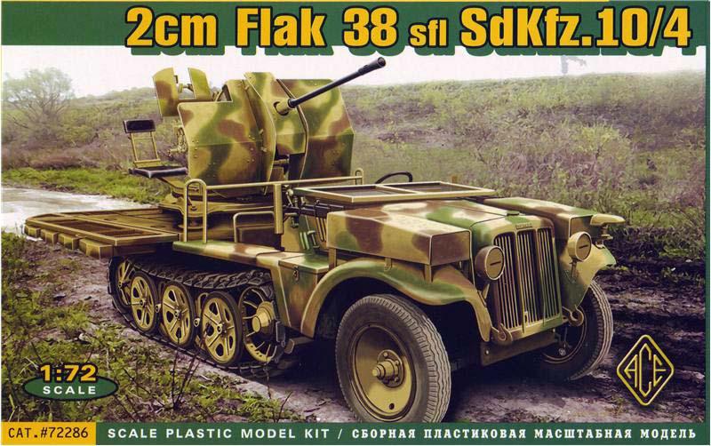 2cm Flak 38 sfl SdKfz.10/4 - ACE
