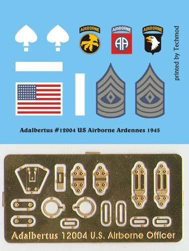 Oficer US Airborne, Ardeny 1945 - Adalbertus