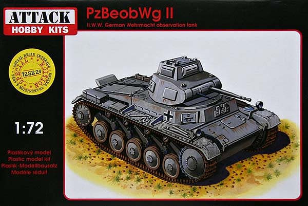 Pz. BeobWagen. II (resin parts)
