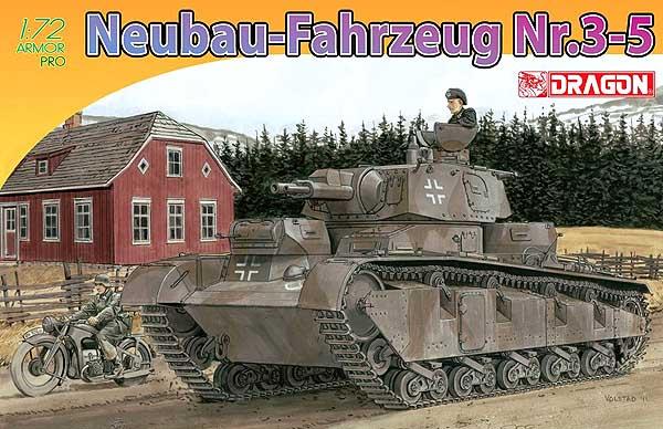 Neubau-Fahrzeug Nr.3-5 - Dragon 1/72