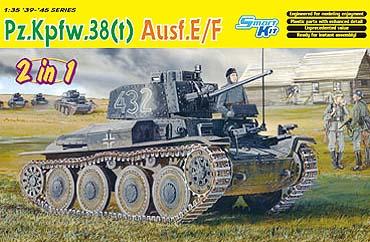 Dragon - 6434 - Pz.Kpfw.38(t) Ausf.E/F