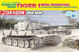 Dragon 6600 - Tiger I, Initial Production s.Pz.Abt.502 Leningrad Region 1942/3