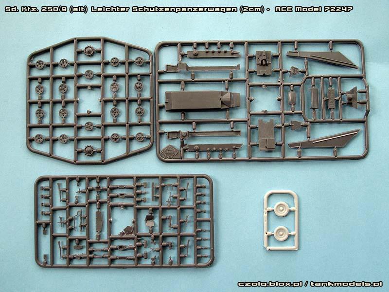 Sd.Kfz.250/9 Leichter Schutzenpanzerwagen (2cm) - ACE 1/72