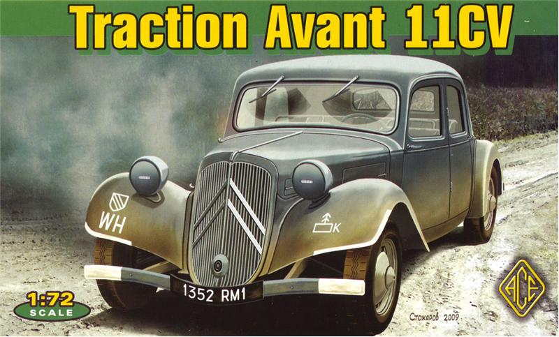 Traction Avant 11CV - Ace Model 1/72