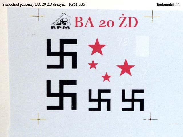 BA-20 ŻD- RPM 1/35