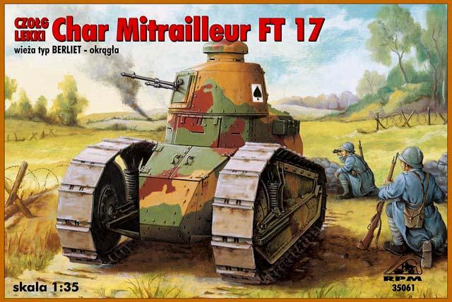 Reanult FT-17 z wieżą Berlieta - RPM 1/35