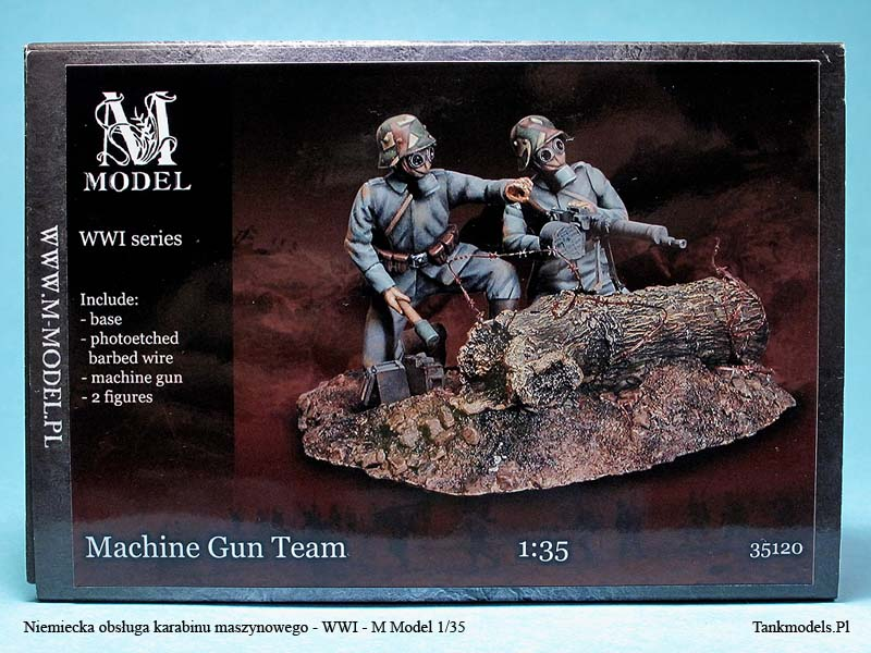German Mashin Gun Team - M Model 1/35