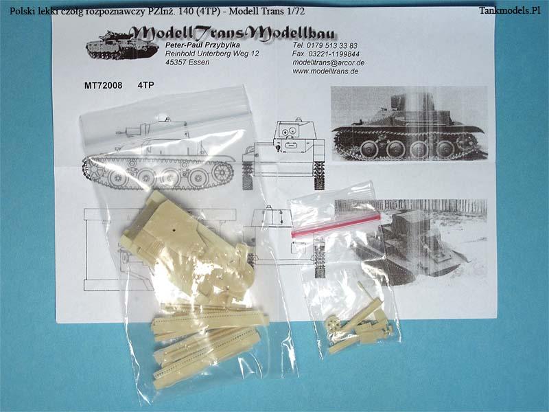 4TP - Modell Trans 1/72
