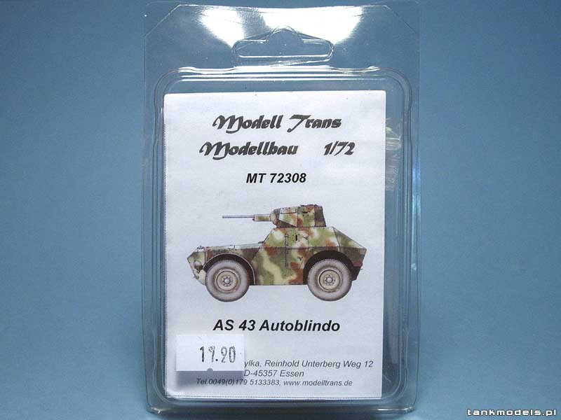 AS 43 Autoblindo - Modell Trans MT 72308