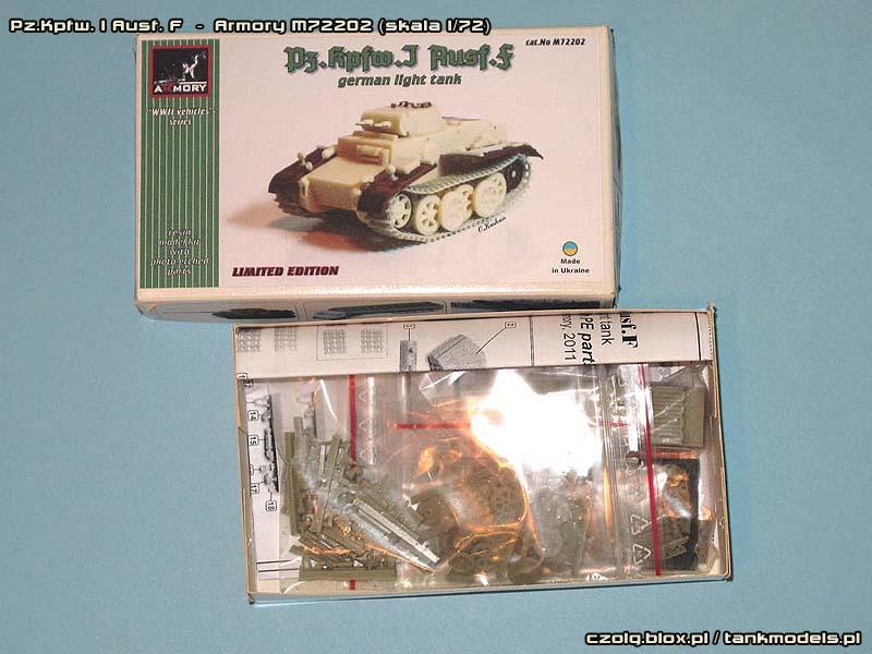 Pz.Kpfw.I Ausf.F - Armory M72202
