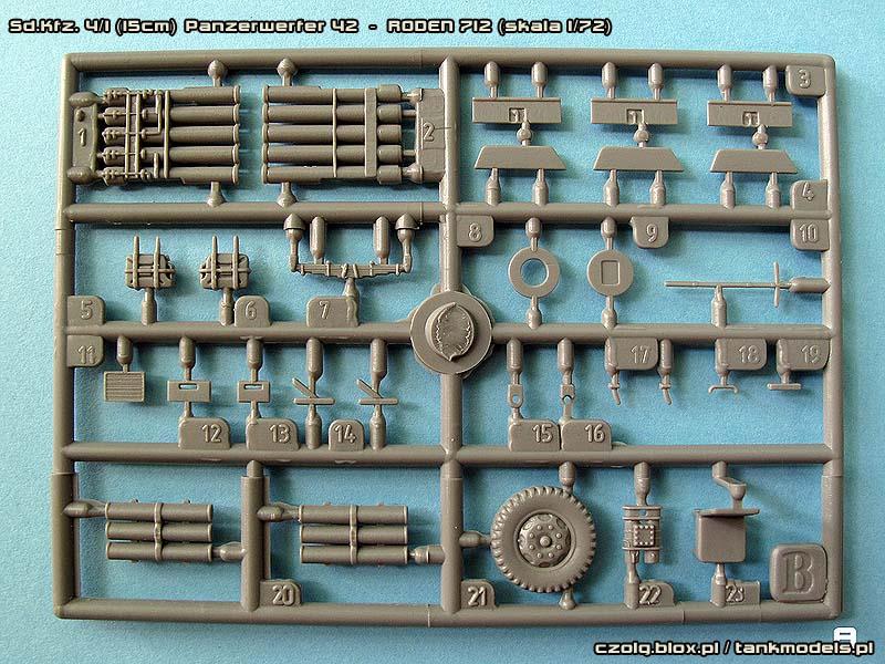 Sd.Kfz. 4/1 (15cm) Panzerwerfer 42 - Roden 1/72
