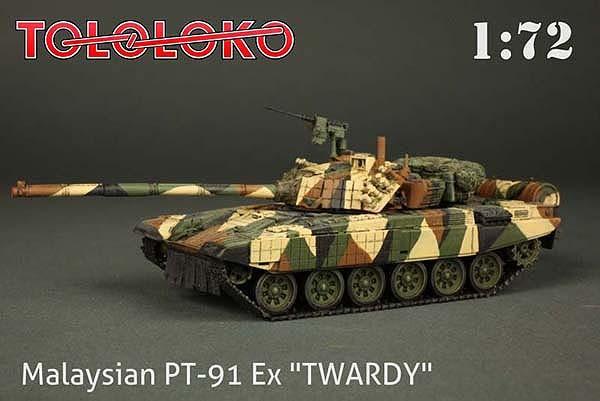 PT-91 Ex Twardy (ver. Malasyan) - Tololoko 1/72