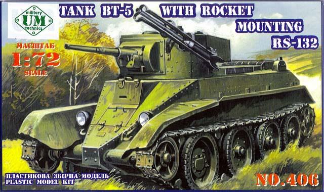 BT-5 z wyrzutniami rakiet - UMMT 1/72
