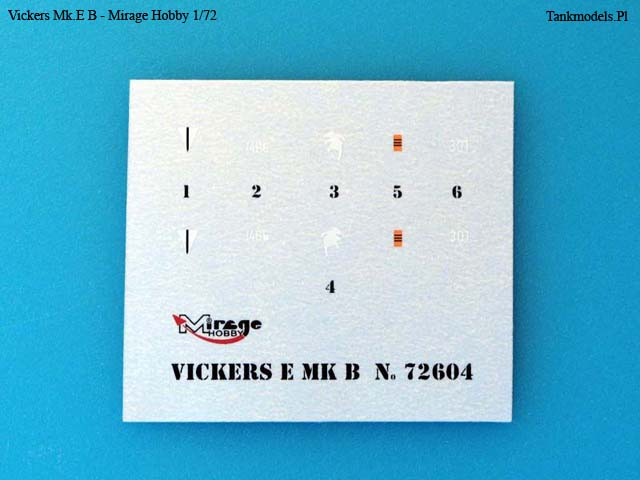 Mirage Hobby 1/72 - Vickers Mk.E Type B