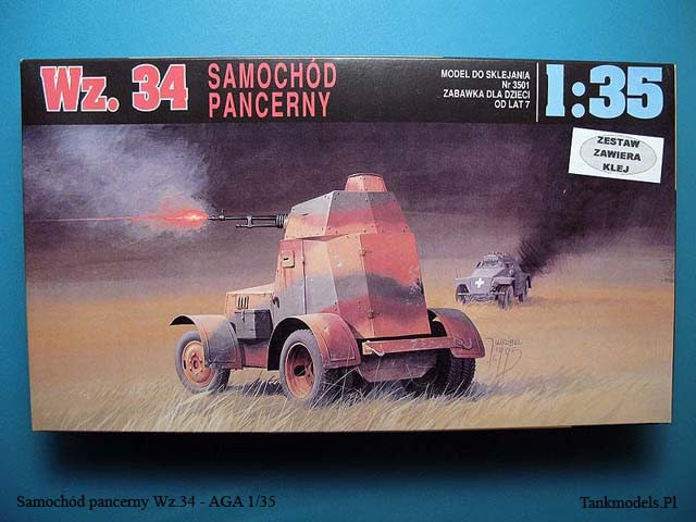 Polish armoured car Wz.34 - AGA 1/35