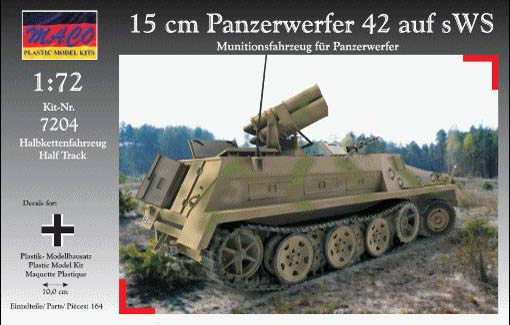 Panzerwerfer 42 ausf sWS - MACO 1/72