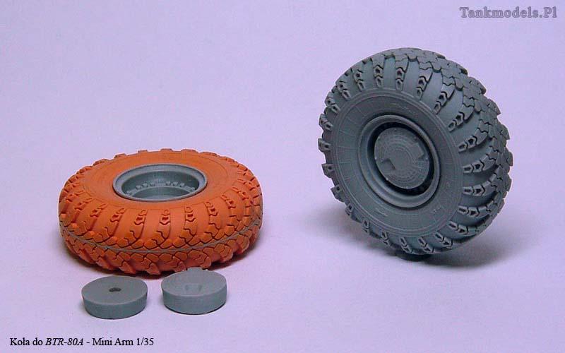 Wheels for BTR-80A - Mini Arm 1/35