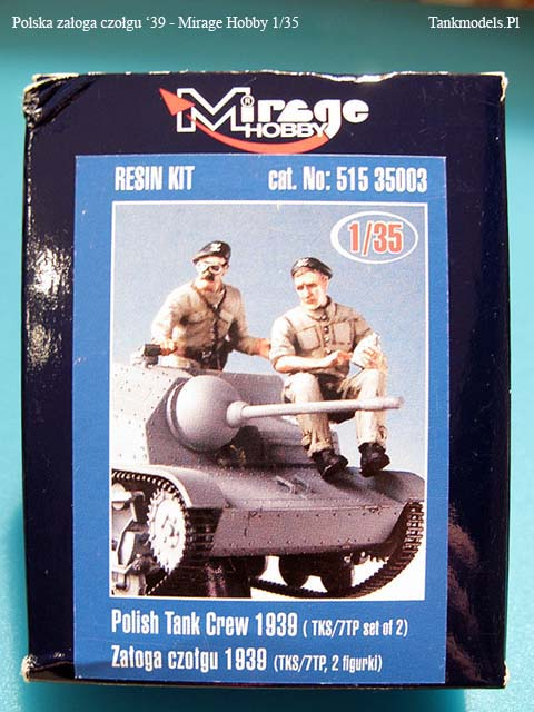 Mirage Hobby - Polscy czołgiści 1939 - 1/35