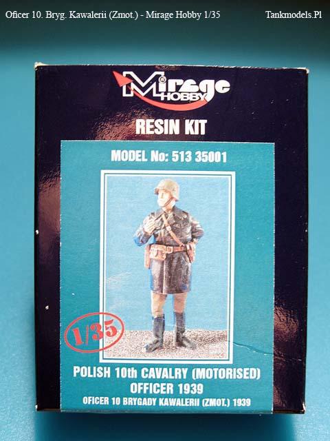 Mirage Hobby - Oficer 10. Bryg. Kawalerii (Zmot) - 1/35