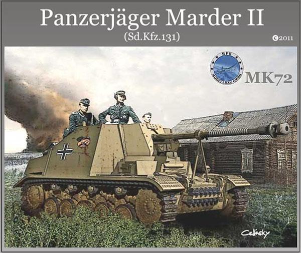 Panzerjaeger Marder II Sd.Kfz.131 - MK72 1/72