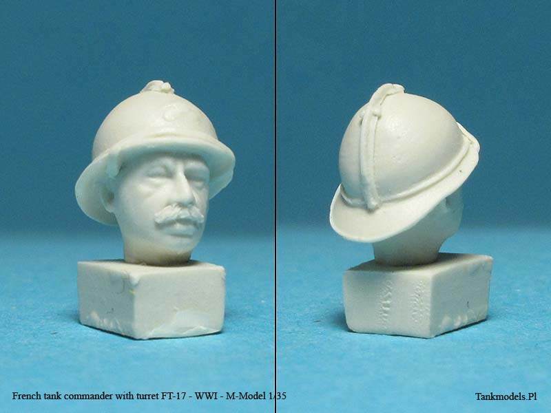 French tank commander with turret FT-17 - M Models 1/35