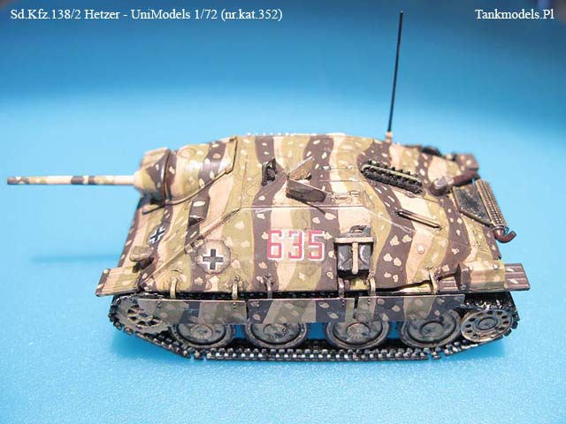 Hetzer (Early version) - Unimodels 1/72