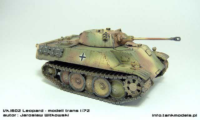 Vk.1602 Leopard - Modell Trans