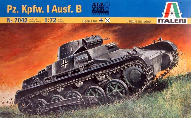 Pz.Kpfw. I Ausf.B - Italeri 1/72