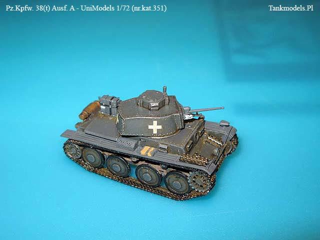 Pz.Kpfw. 38(t) Ausf.A - UniModels 1/72