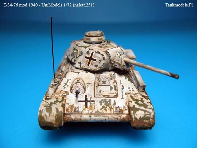 T-34/76 '40 wer. niemiecka - UniModels 1/72