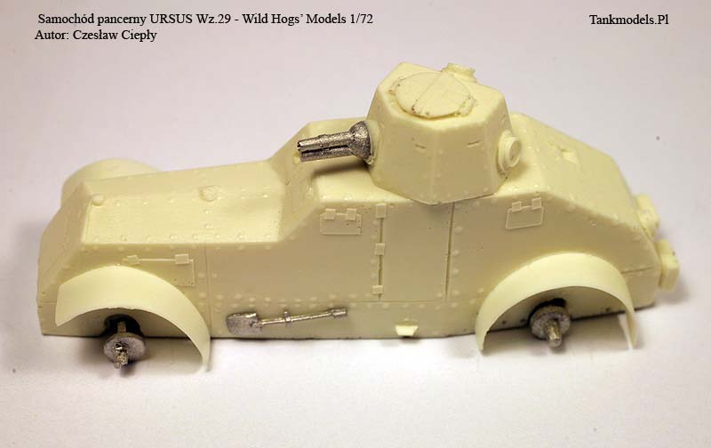 Ursus Wz.29 - Wild Hogs Models 1/72