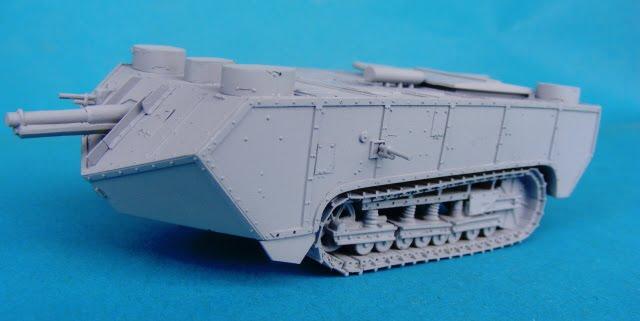 St.Chamond 1 serie - Modell Trans