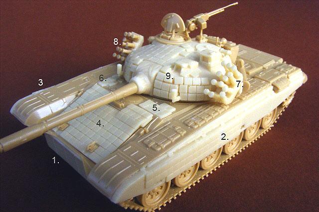 PT-91A Twardy - Modell Trans MT72155
