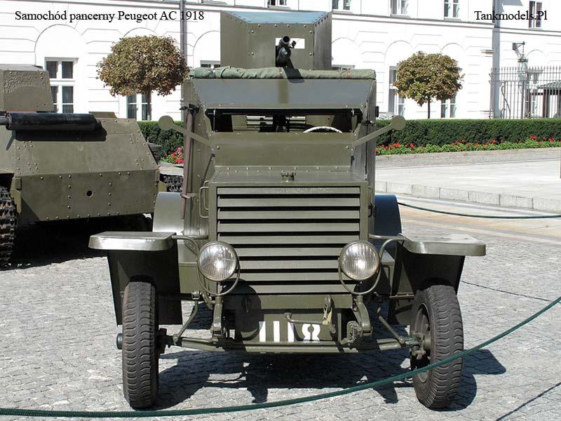 Samochód pancerny Peugeot AC 1918