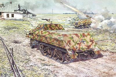 Sd.Kfz. 4/11 Panzerwerfer 42 - Roden 722