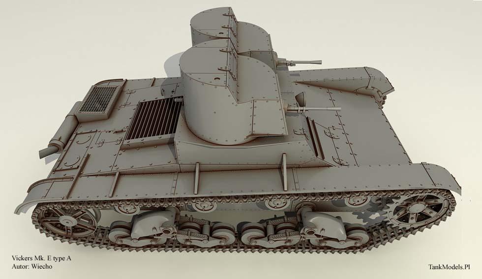 TankModels.Pl - Vickers Mk.E Type A