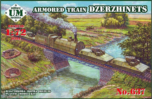 UMT637 Armored train 'Dzerzhinets'