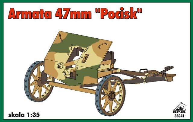 """Armata 47mm """"Pocisk"""" - RPM 1/35"""
